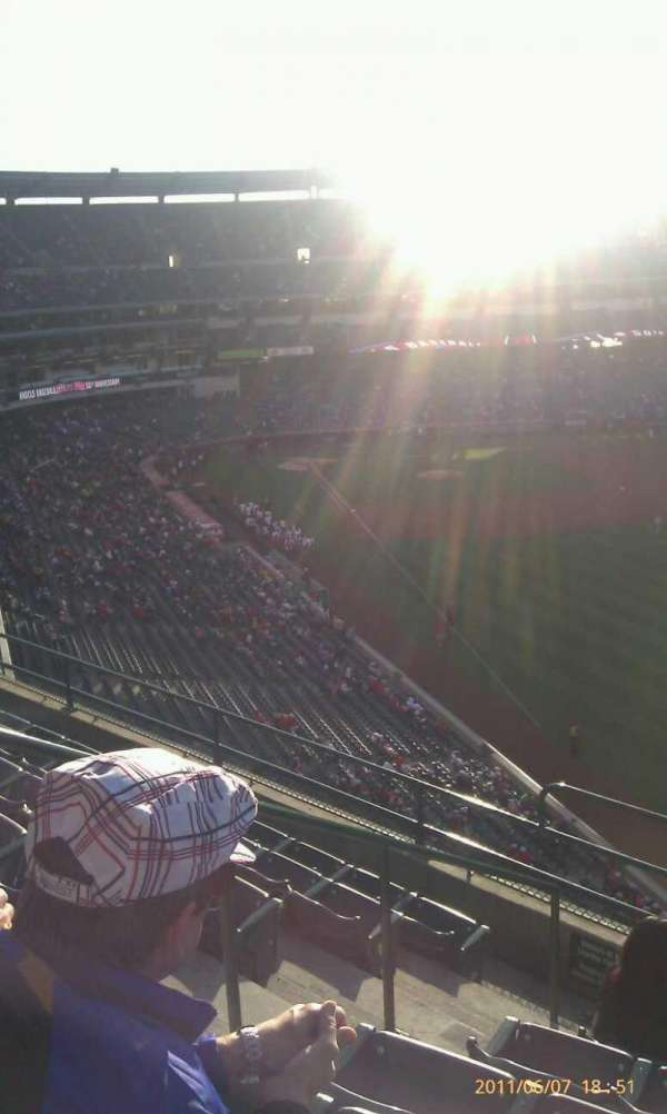 Angel Stadium, section: V434, row: g, seat: 4