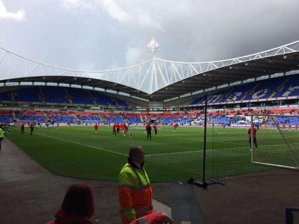 University of Bolton Stadium, section: Block E Lower, row: E, seat: 16