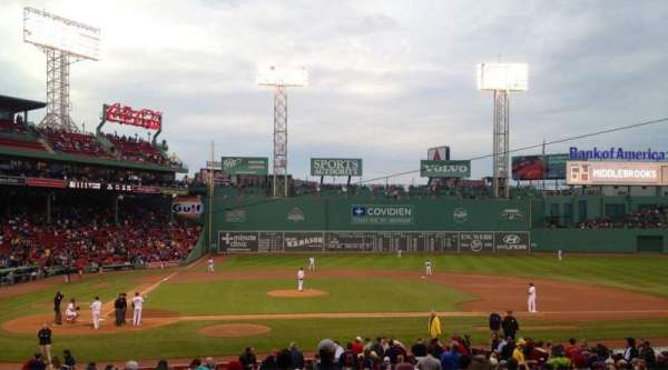 Fenway Park, section: 16-b120, row: NN, seat: 3