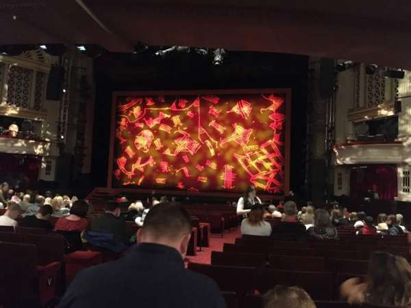 Edinburgh Playhouse, section: Stalls, row: AA, seat: 16
