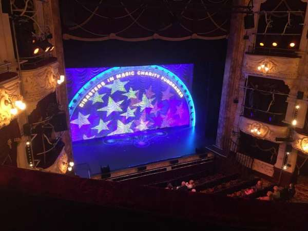Theatre Royal Newcastle, section: Upper Circle, row: B, seat: 32