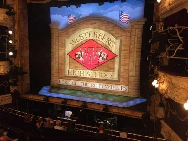 Theatre Royal Newcastle, section: Grand Circle, row: A, seat: 9