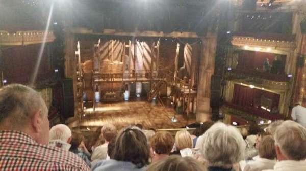 CIBC Theatre, section: Mezzanine LC, row: J, seat: 319