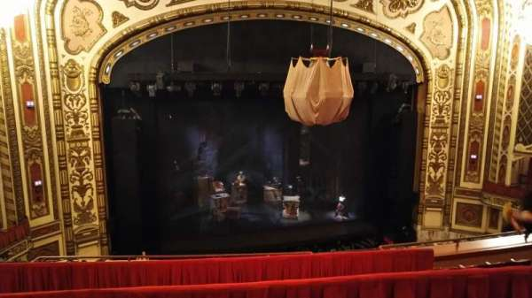 Cadillac Palace Theater, section: Balcony LC, row: F, seat: 305