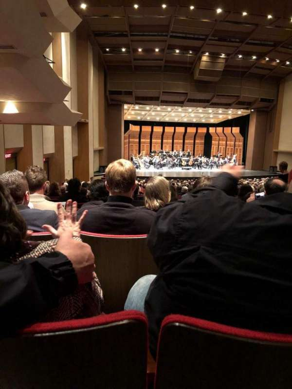 Sacramento Community Center Theater, section: Orchestra, row: BB, seat: 53
