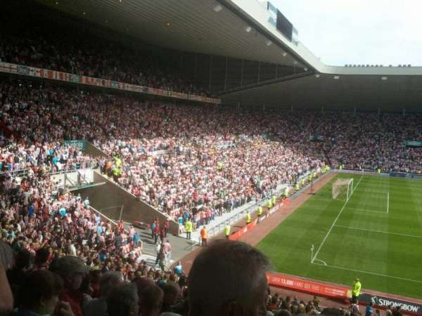 Stadium of light, section: U22, row: 30, seat: 332