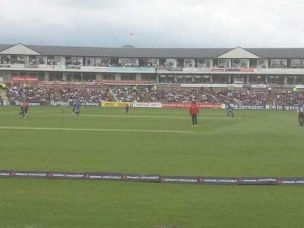 Emirates Durham, section: NE Terrace 33, row: J, seat: 194