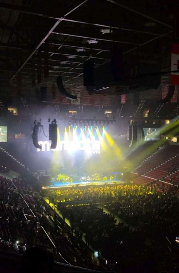 PNC Arena, section: 229, row: D, seat: 14