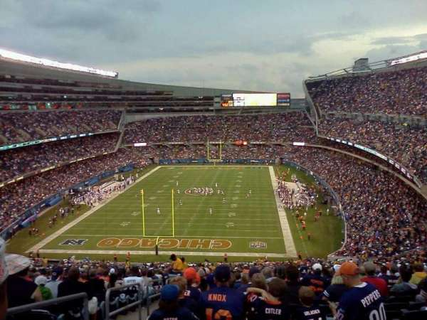 Soldier Field, section: 230, row: j, seat: 3