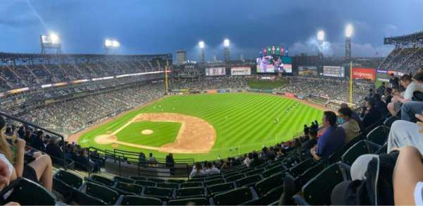 Guaranteed Rate Field, section: 522, row: 12, seat: 19