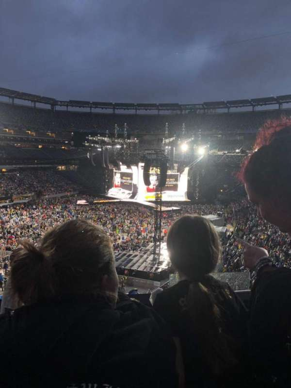 MetLife Stadium, section: 222A, row: 6, seat: 18