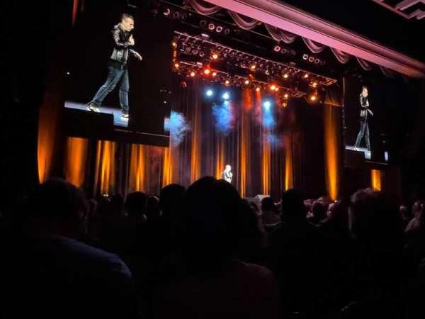 Borgata Event Center, section: front, row: 10