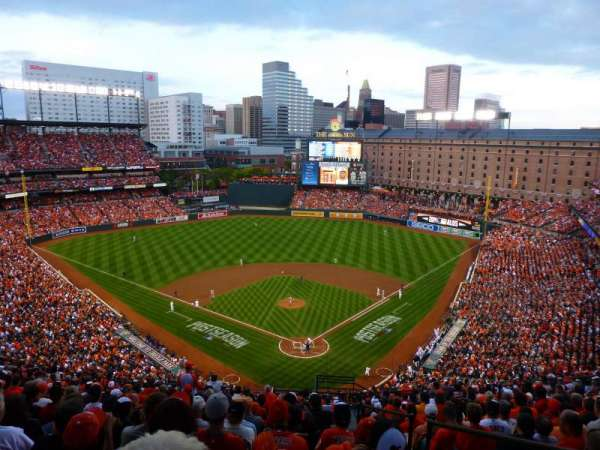 Oriole park at camden yards, section: 340, row: 22, seat: 2