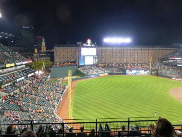 Oriole Park at Camden Yards, section: 370, row: 11, seat: 4