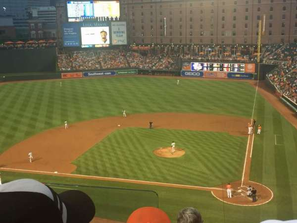 Oriole Park at Camden Yards, section: 346, row: 4, seat: 9