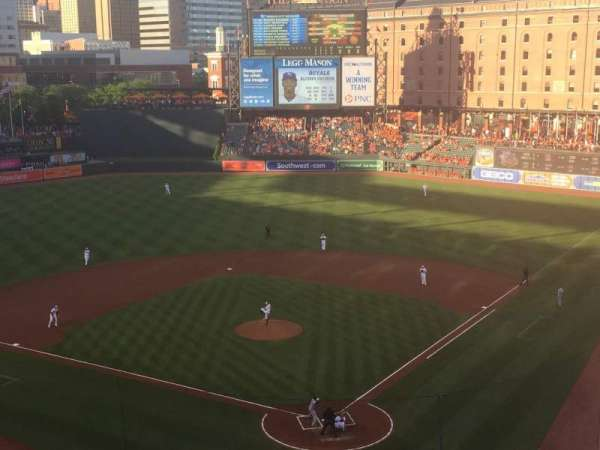 Oriole Park at Camden Yards, section: 340, row: 2, seat: 7