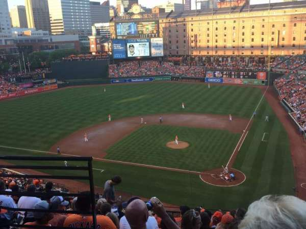 Oriole Park at Camden Yards, section: 344, row: 10, seat: 7