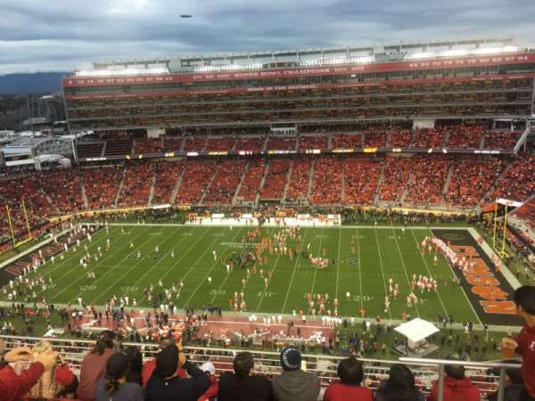 Levi's Stadium, section: 410, row: 6, seat: 4