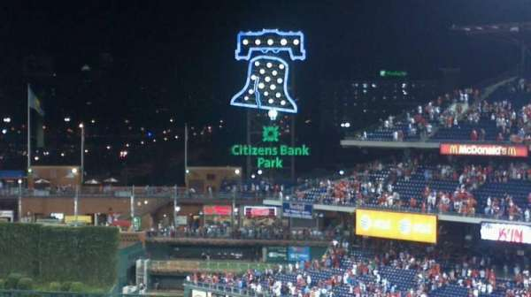 Citizens Bank Park, section: 316, row: 5, seat: 11