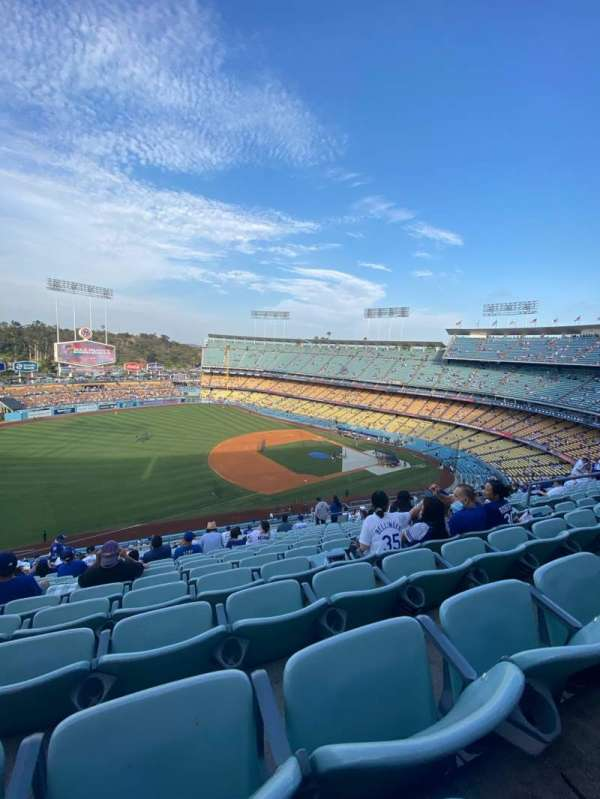 Dodger Stadium, section: 31RS, row: V, seat: 12