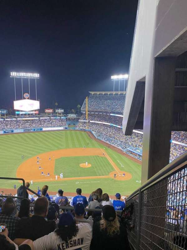 Dodger Stadium, section: 13RS, row: FF, seat: 5