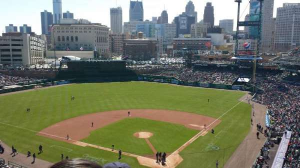 Comerica Park, section: 329, row: 4, seat: 11