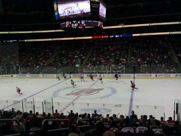 Prudential Center, section: 9, row: 17, seat: 16