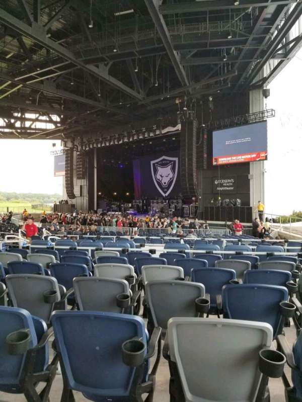 St. Joseph's Health Ampitheater, section: 206, row: J, seat: 10