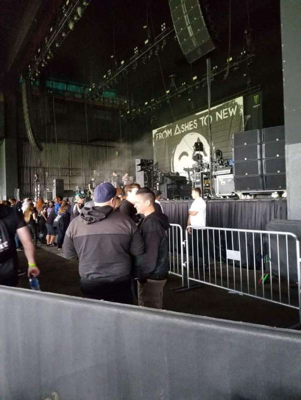 BB&T Pavilion, section: 100, row: A, seat: 10