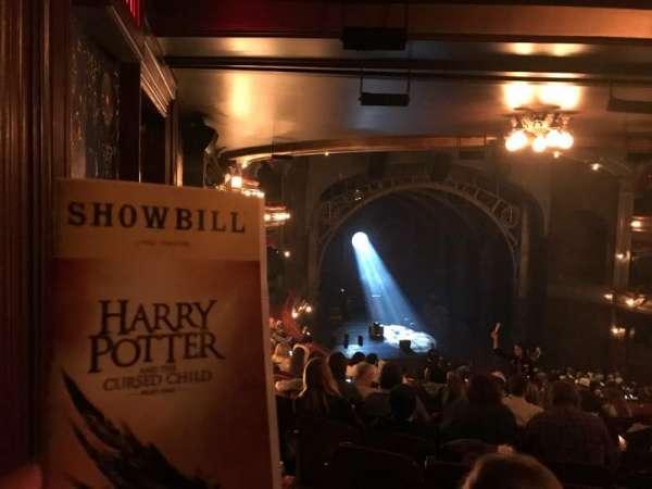 Lyric Theatre, section: Dress Circle L, row: L, seat: 11