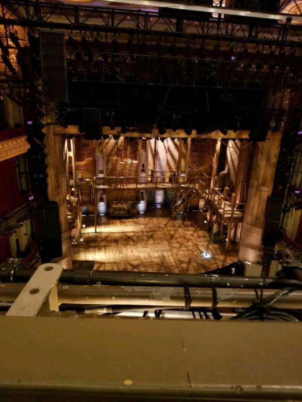 CIBC Theatre, section: balcony lc, row: A, seat: 415