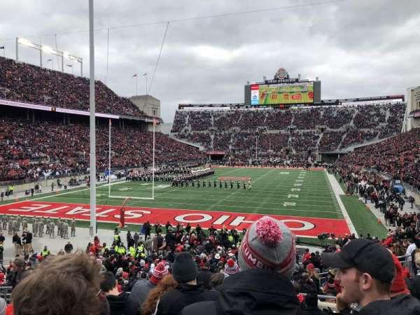 Ohio Stadium, section: 5A, row: 11, seat: 7