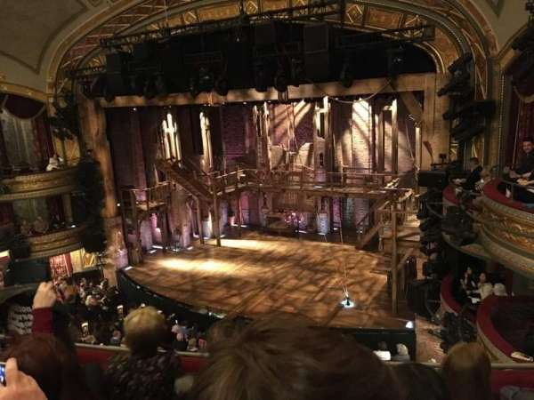 Richard Rodgers Theatre, section: Front Mezzanine R, row: D, seat: 20