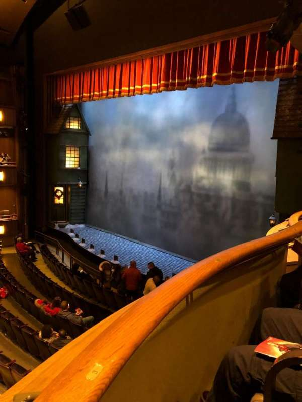 Goodman Theatre - Albert Theatre, section: Box 9, seat: 4