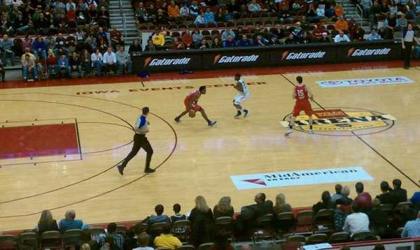 Wells Fargo Arena, section: 320