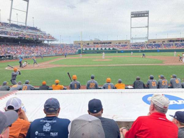 TD Ameritrade Park, section: 108, row: 8, seat: 10
