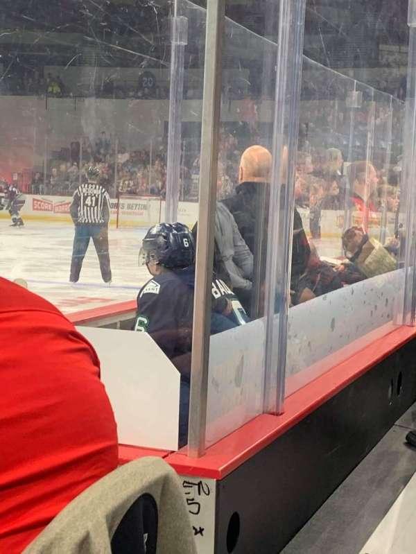 Veterans Memorial Coliseum (Portland), section: 2, row: EE, seat: 3