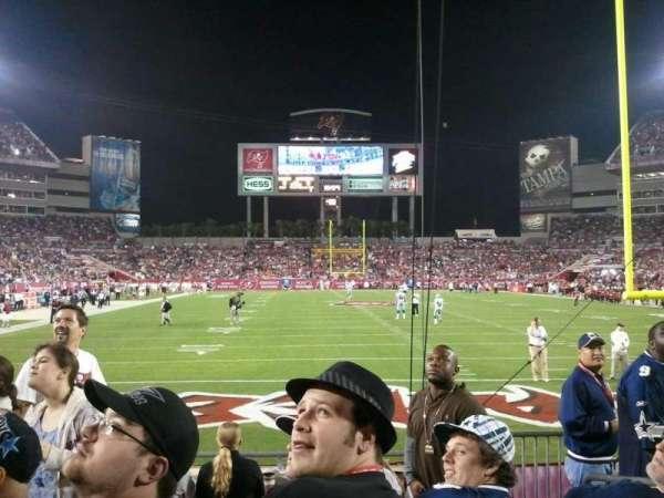 Raymond James Stadium, section: 147, row: G, seat: 22