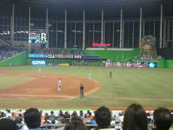 Marlins Park, section: 7, row: 4, seat: 18
