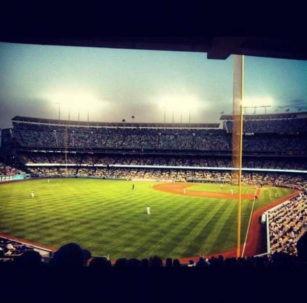 Dodger Stadium, section: 167LG, row: J, seat: 5