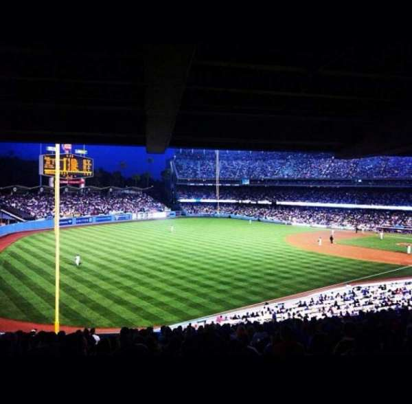 Dodger Stadium, section: 157LG, row: R, seat: 4