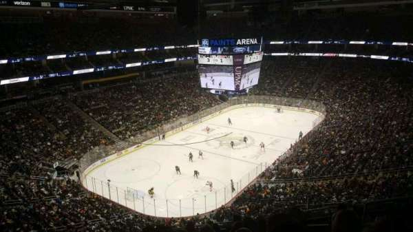 PPG Paints Arena, section: 208, row: H, seat: 5