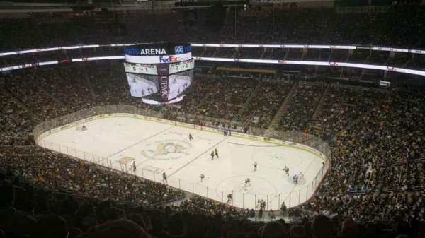 PPG Paints Arena, section: 216, row: N, seat: 9