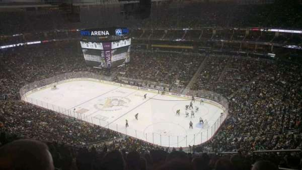PPG Paints Arena, section: 216, row: M, seat: 3