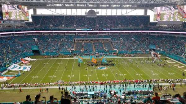 Hard Rock Stadium, section: 319, row: 15, seat: 13