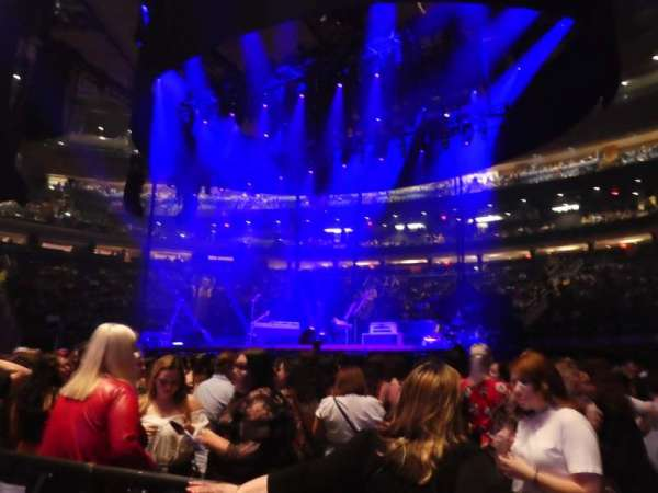 Madison Square Garden, section: Floor C, row: 2, seat: 3