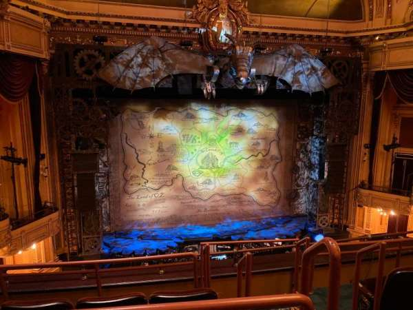 Hippodrome Theatre, section: Center Middle Balcony, row: D, seat: 301