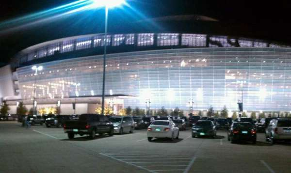 AT&T Stadium, section: Entry E