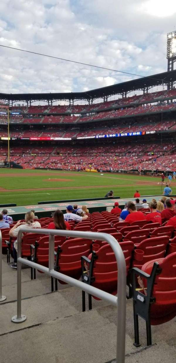 Busch Stadium, section: 158, row: 7, seat: 1