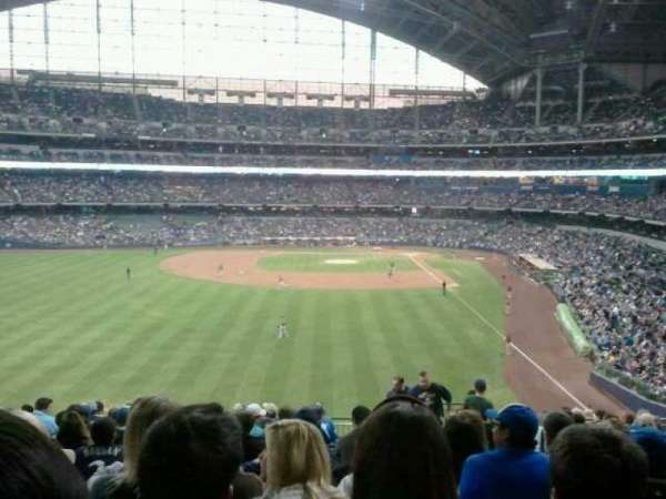 Miller Park, section: 235, row: 16, seat: 4